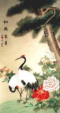 chinese-painting-crane-CR4221